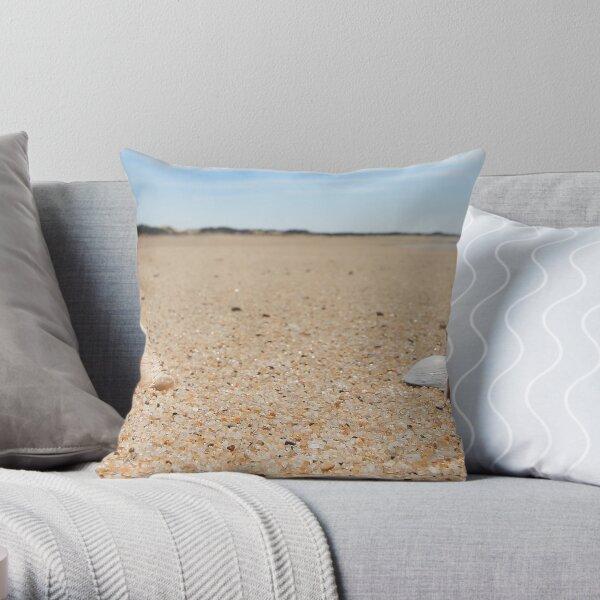 Hard Shelled Clam - Provincetown Beach Throw Pillow