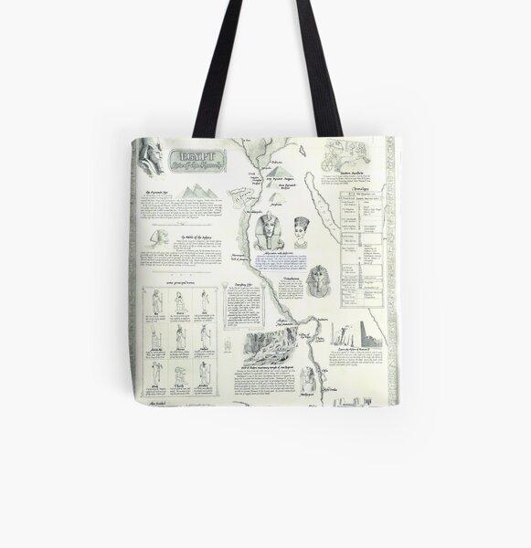 Egypt - - Land of the Pharaohs All Over Print Tote Bag