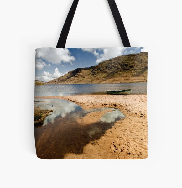 Lough Nafooey Co. Mayo/Galway Ireland. All Over Print Tote Bag