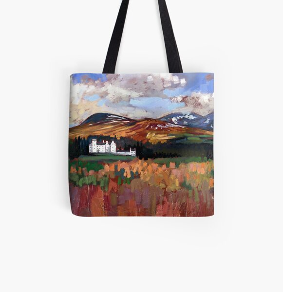 Blair Castle All Over Print Tote Bag