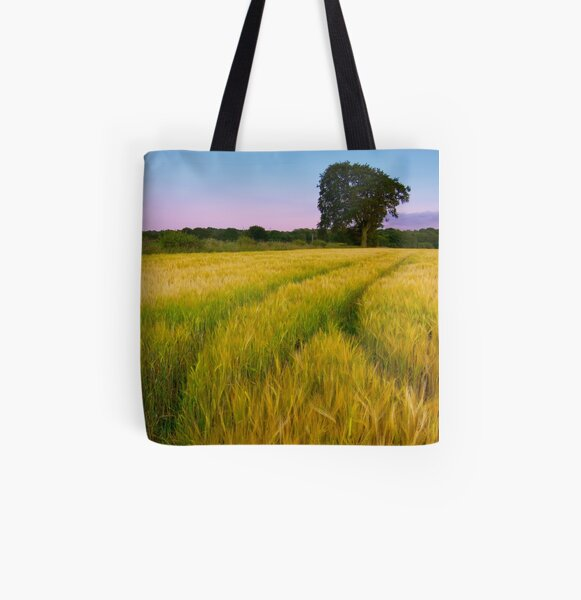 Sunset Tree All Over Print Tote Bag