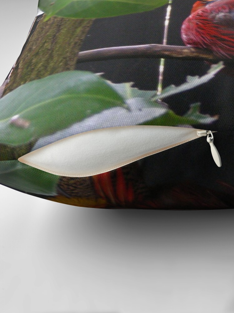 Alternative Ansicht von Bird of Paradise Dekokissen