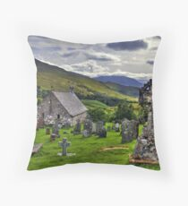Cille Choirill, Lochaber, Scotland Throw Pillow