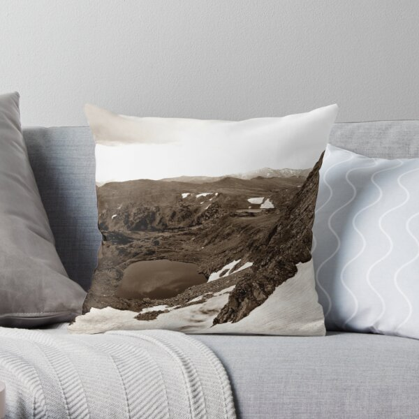 Along The Great Divide Throw Pillow