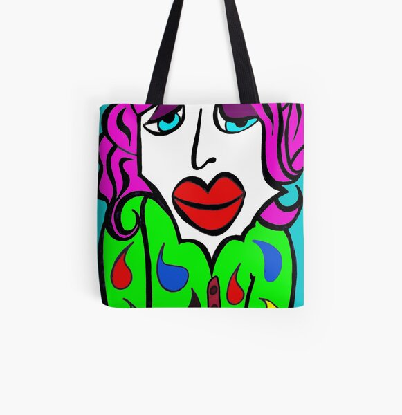 Mildred's Debut... © All Over Print Tote Bag