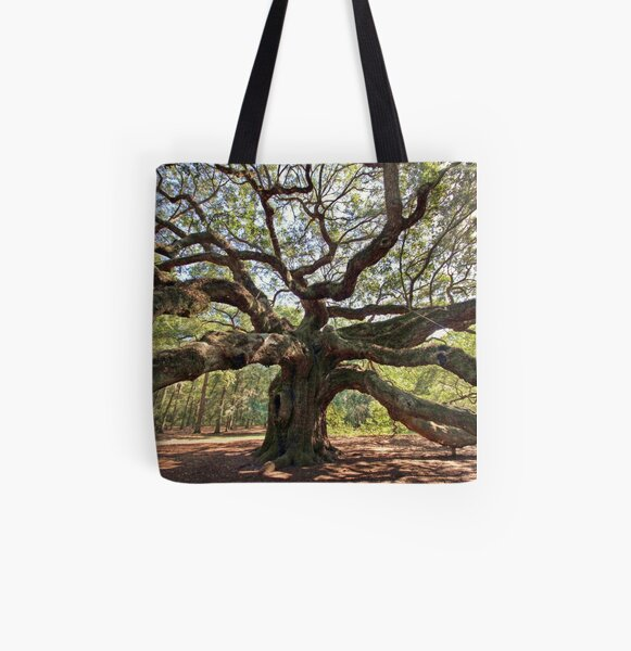 The Angel Oak All Over Print Tote Bag