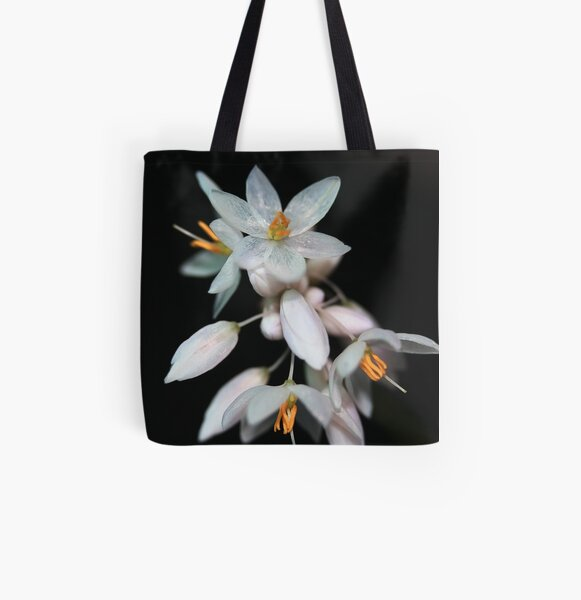 Sowerbaea juncea All Over Print Tote Bag