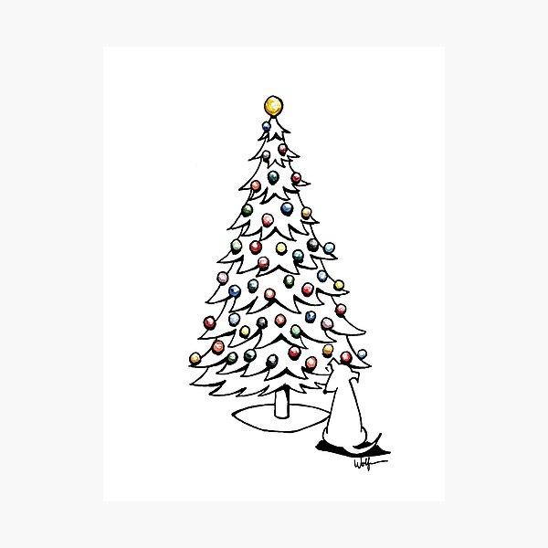 Holiday Greetings #1 Photographic Print