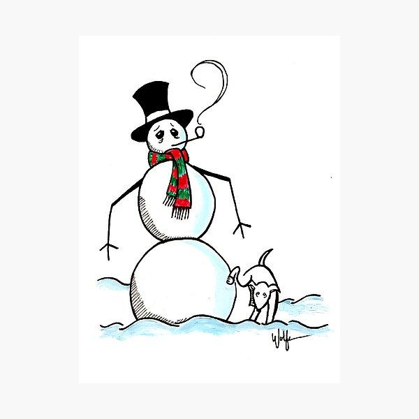 Holiday Greetings #2 Photographic Print