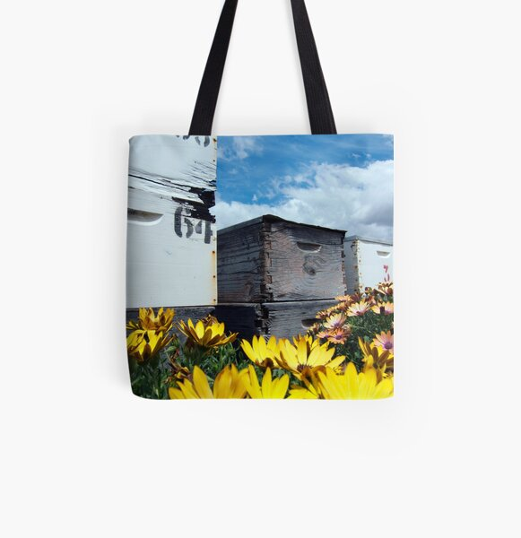 The house of honey All Over Print Tote Bag
