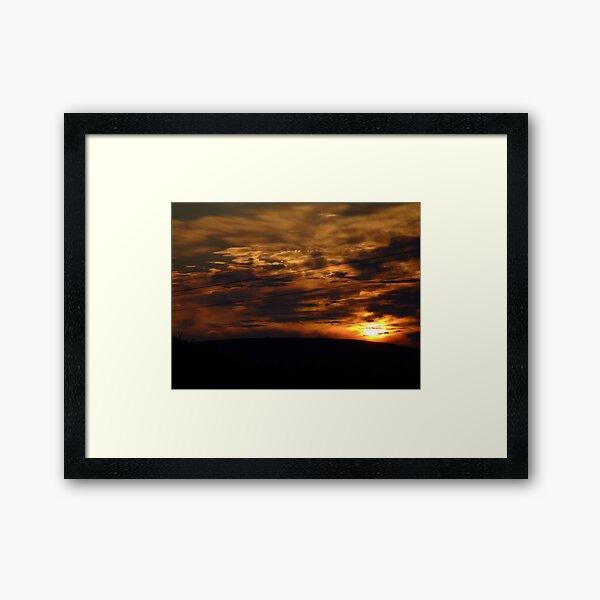 The Cloud Foundry Framed Art Print