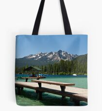 Redfish Lake, Idaho Tote Bag