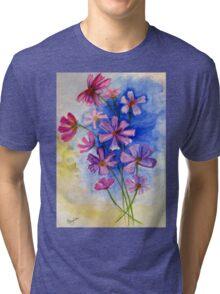 Melancholic Cosmos. / Kosmos in Suid-Afrika Tri-blend T-Shirt