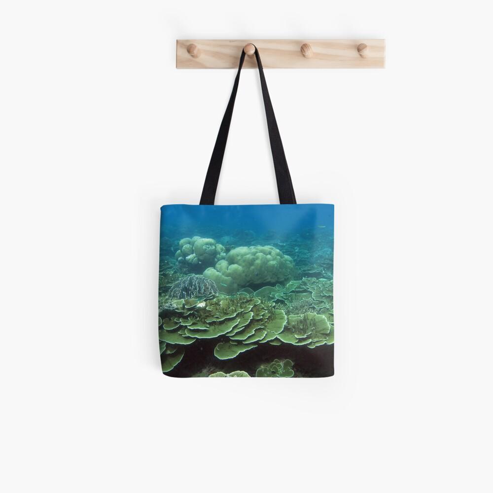 Reef at Pulau Pisang Tote Bag