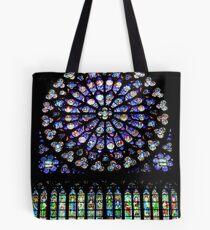 Bolsa de tela Notre-Dame Paris- South Rose window (2)
