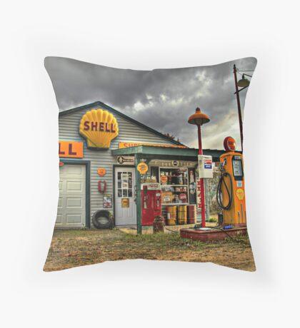 Shell Gas - Filler up Throw Pillow