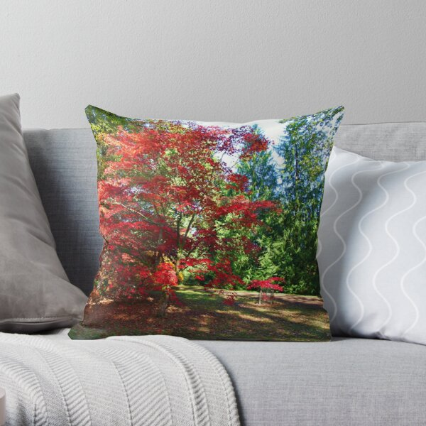 The Acer in the pack Throw Pillow