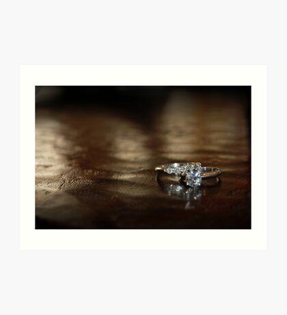 Diamonds are forever.... Art Print