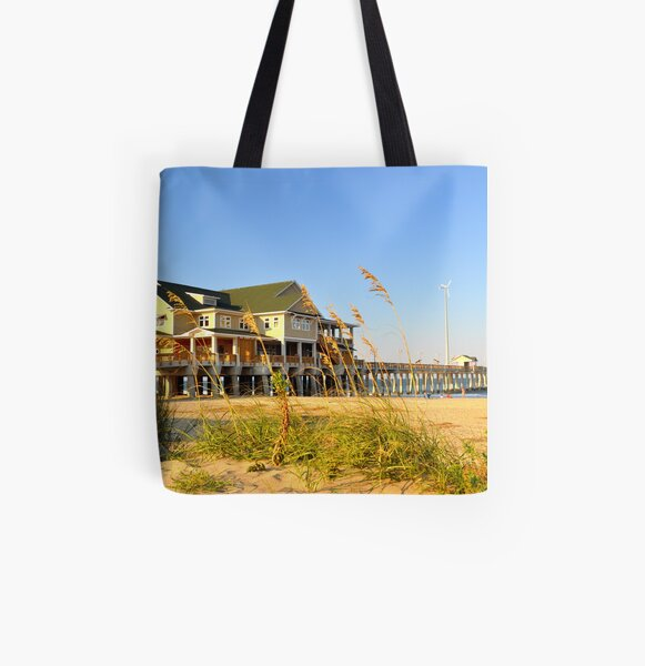 Jennette's Pier All Over Print Tote Bag