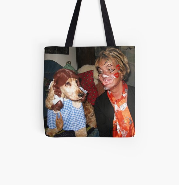 I Do NOT Think We're In Kansas Anymore. All Over Print Tote Bag
