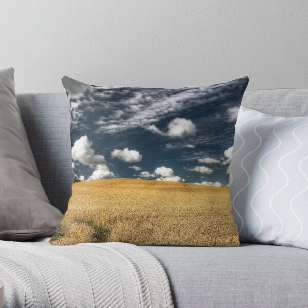 not uncropped? Throw Pillow