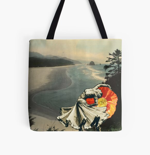 Dancing Surrender  All Over Print Tote Bag