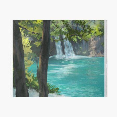 Plitvice Lakes, Croatia Art Board Print
