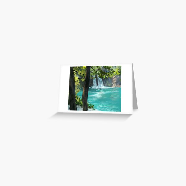 Plitvice Lakes, Croatia Greeting Card