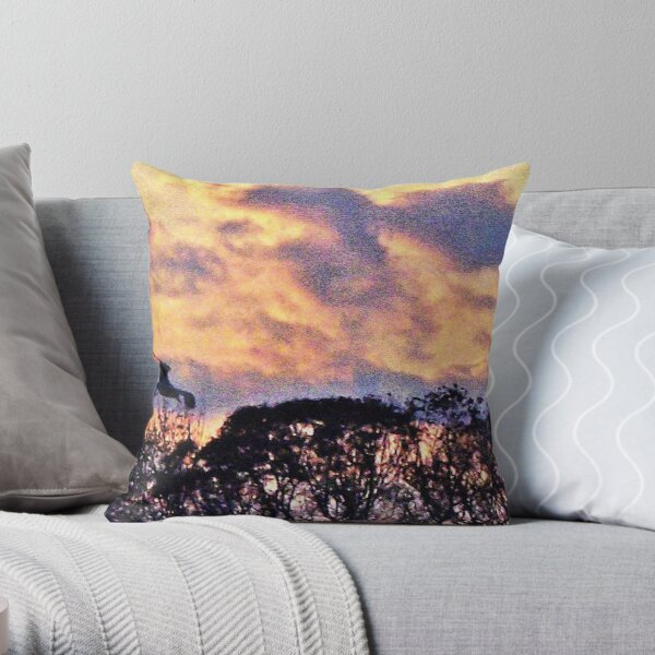 """""""In The Evening"""" Throw Pillow"""