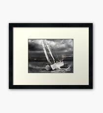 Cruzin Solo Framed Print