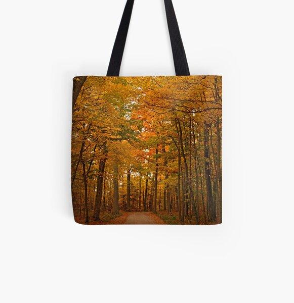 Autumn in Door County All Over Print Tote Bag