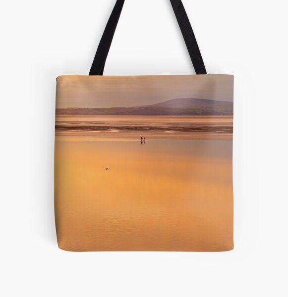 are you sure that this is where we parked the car? All Over Print Tote Bag
