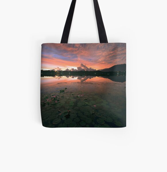 Sampaloc Lake All Over Print Tote Bag