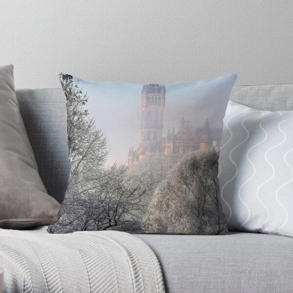 Kelvingrove Winter (3) Throw Pillow