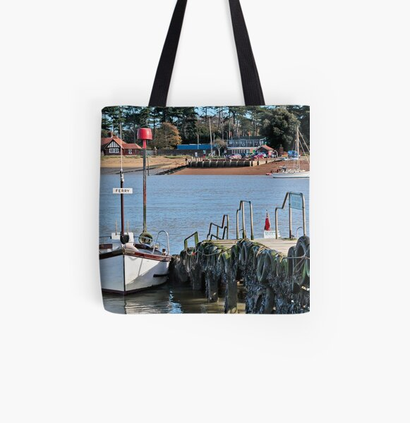 Ferry All Over Print Tote Bag