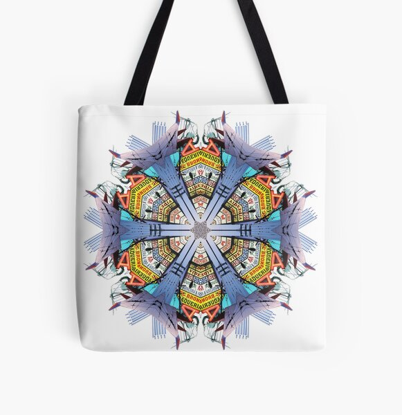 Taqueria Power Mandala All Over Print Tote Bag