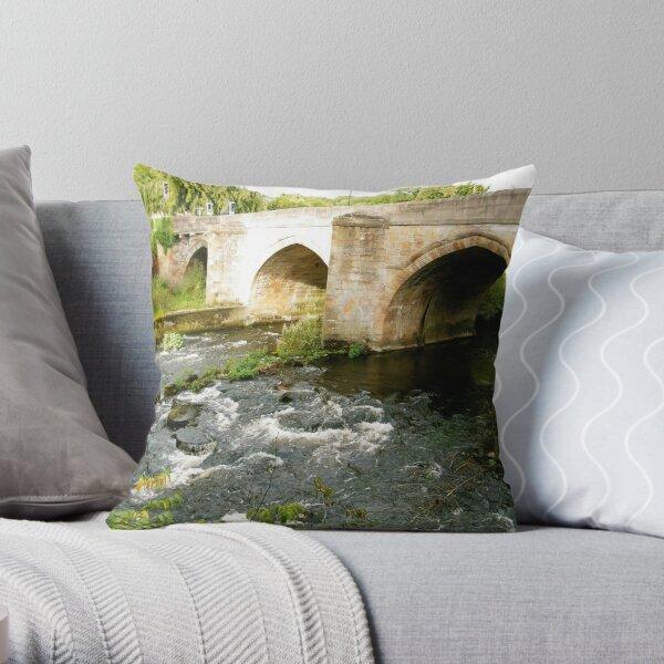 Matlock Bridge Throw Pillow