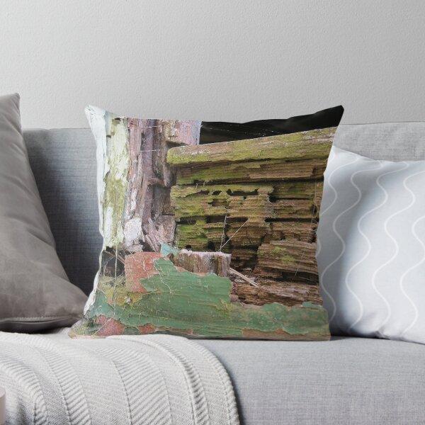 Textures of neglect Throw Pillow