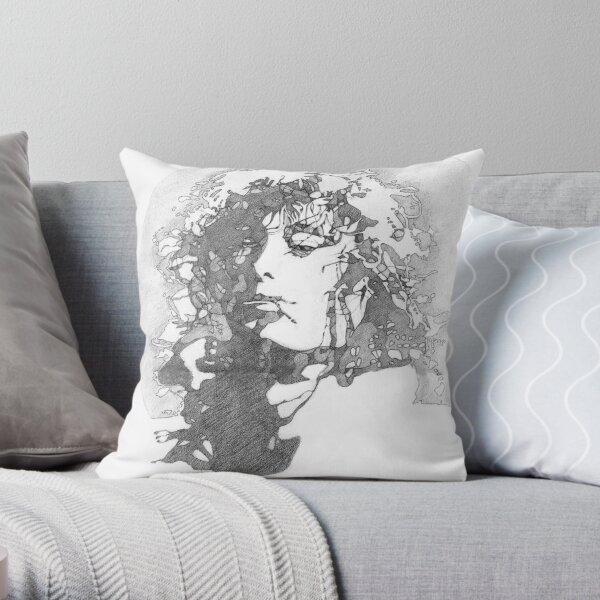 Rock Legend Throw Pillow