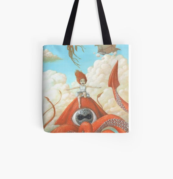 Someday I will Never Grow Up All Over Print Tote Bag