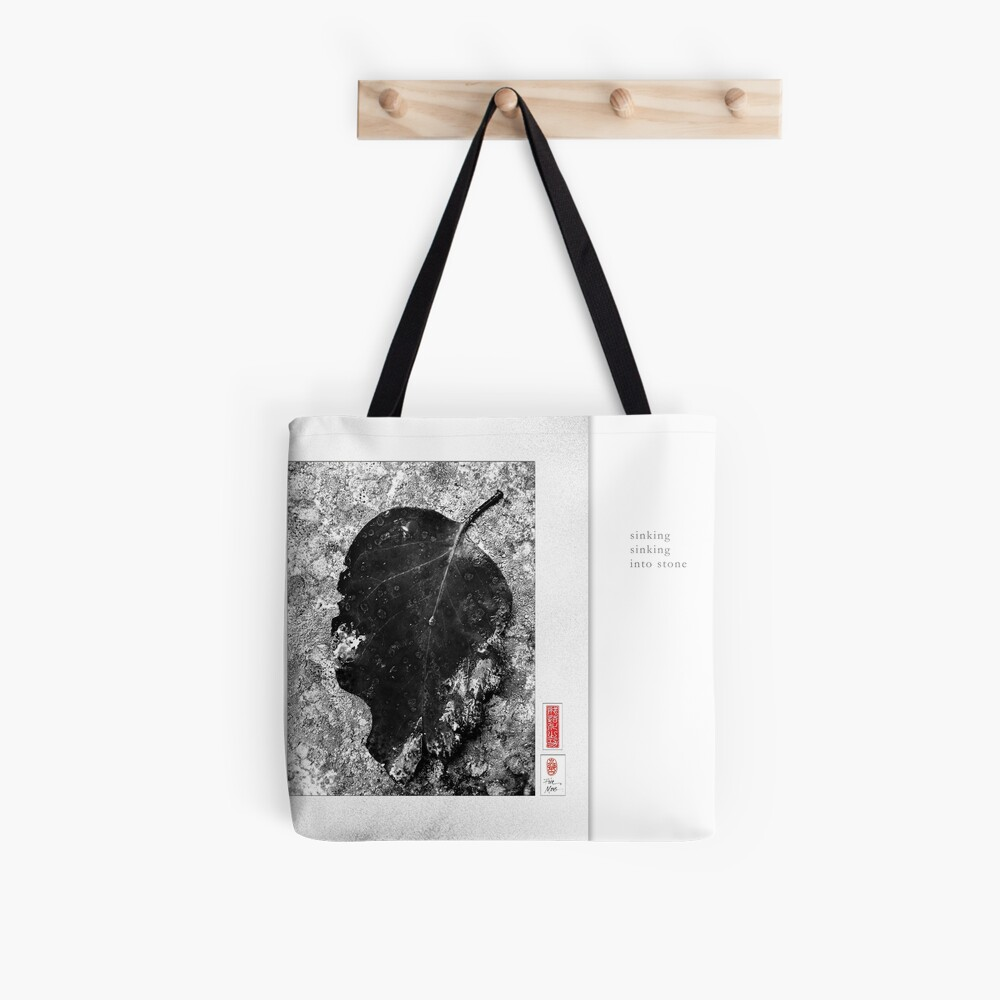 Mindfulness In Monochrome - Sinking Tote Bag