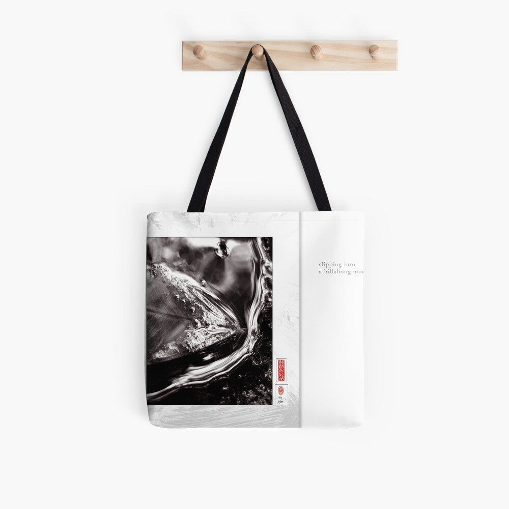 Mindfulness In Monochrome - Slipping Tote Bag