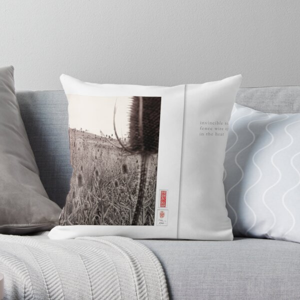 Mindfulness In Mononchrome - Summer Throw Pillow