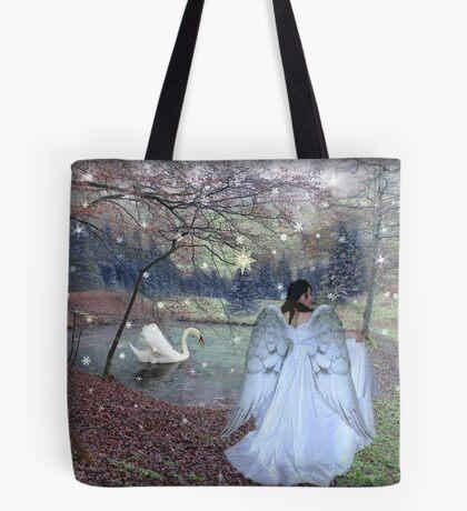 Angel of Christmas Tote Bag