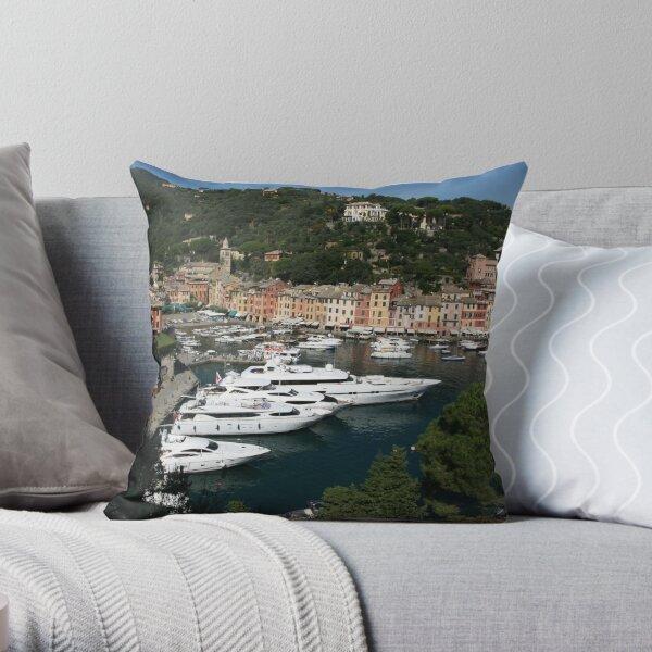 View of Portofino Throw Pillow