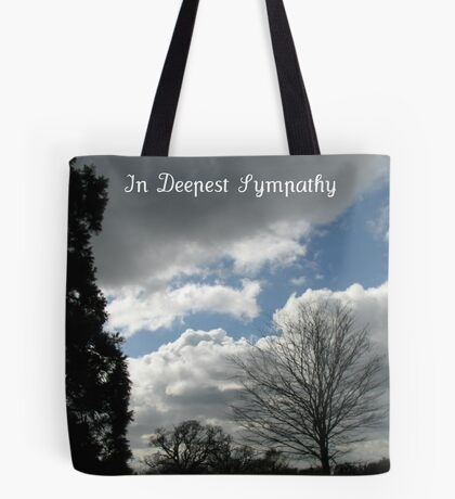 In Deepest Sympathy Tote Bag
