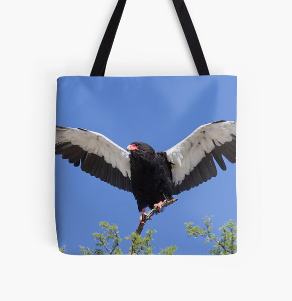Bateleur stretches its wings All Over Print Tote Bag