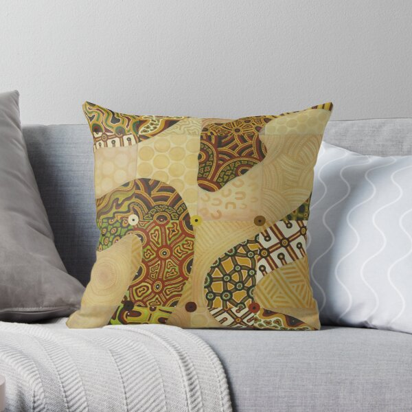 Six Seasons Throw Pillow