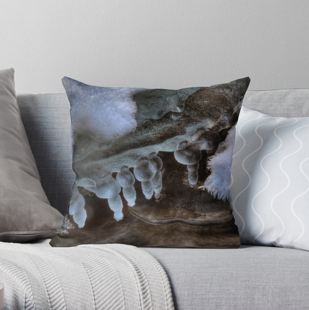 Coupall Icicles (1) Throw Pillow
