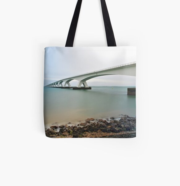 Zealand Bridge, different....  All Over Print Tote Bag